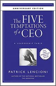 5 temptations of leaders