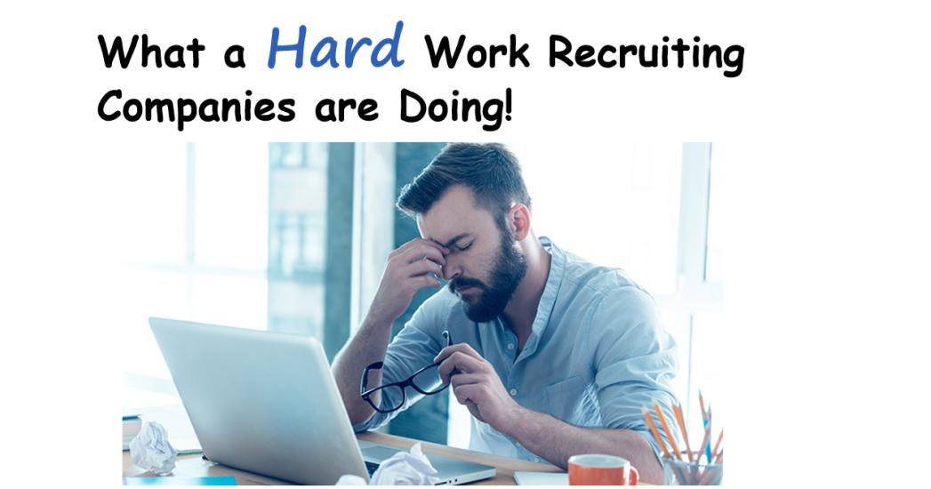 recruitment is hard