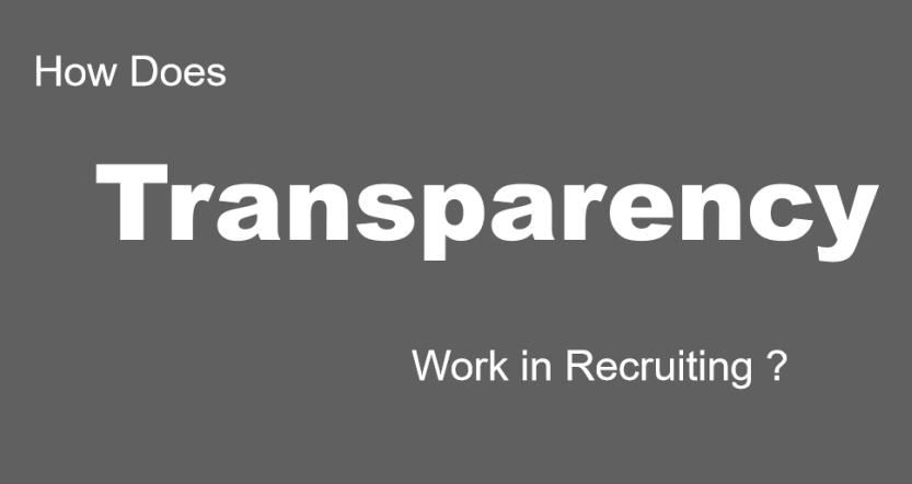 transparent China recruiting
