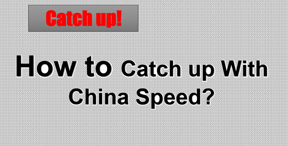 China is fast