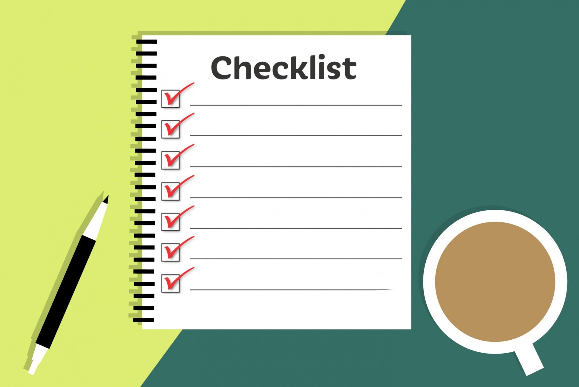 checklist interviewing